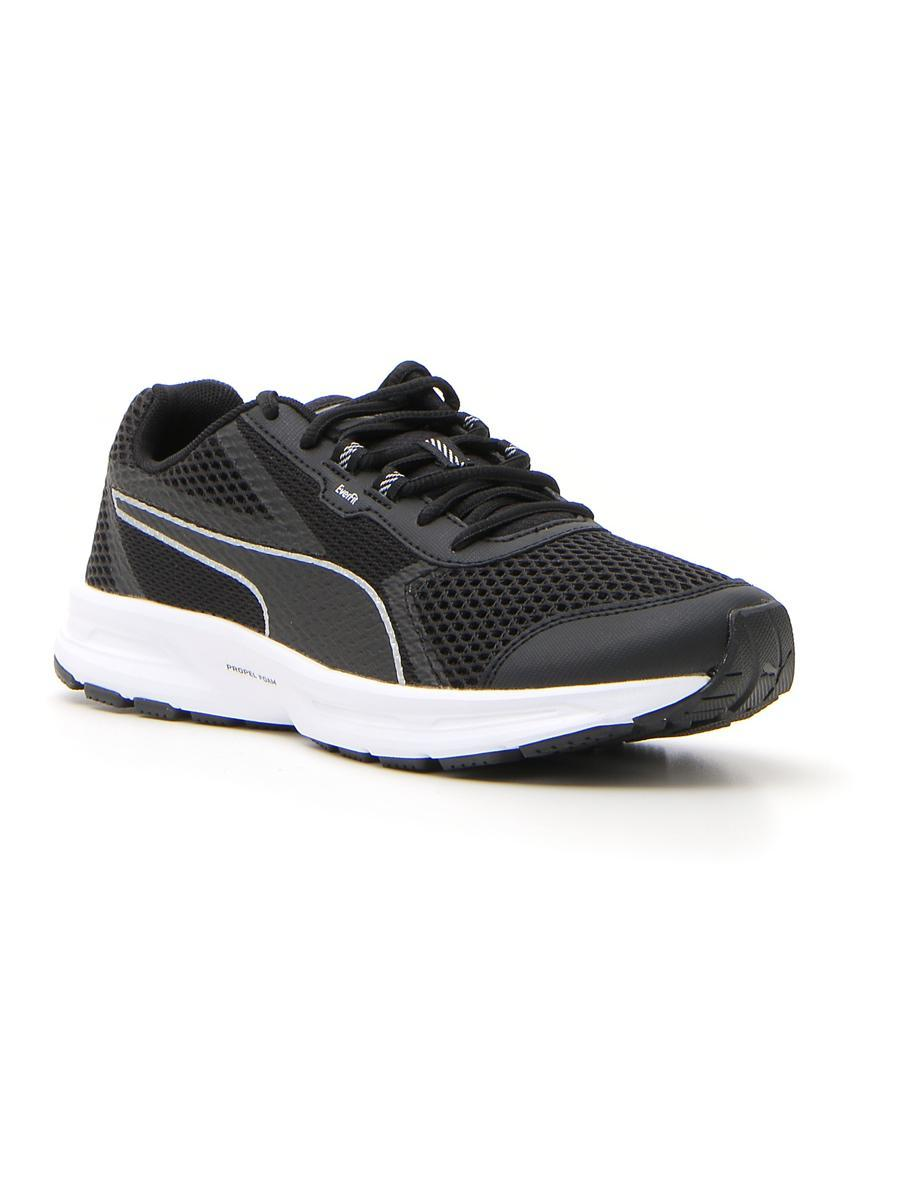 Essential Runner Puma Black-Puma Silver