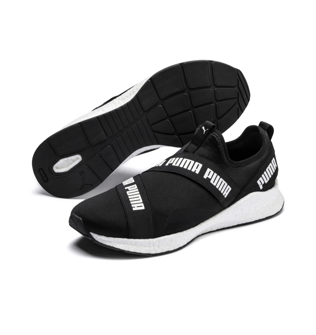 NRGY Star Slip-On Puma Black-Puma White