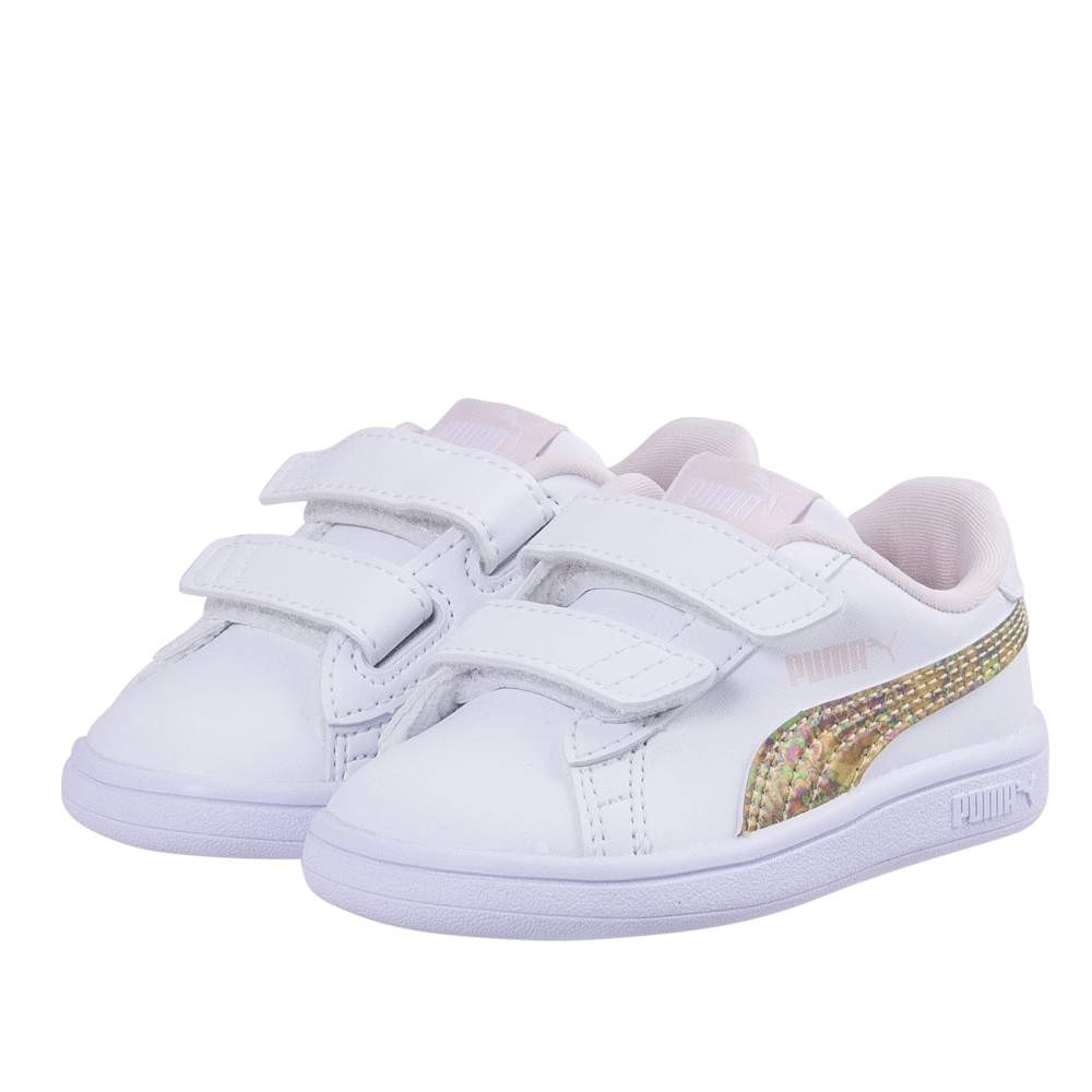 Puma Smash v2 Mermaid V PS Puma White-Pe