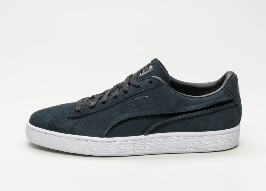 Suede Classic Exposed Seams Puma Black