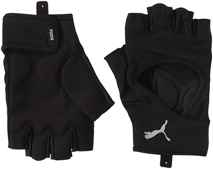 TR Ess Gloves Up Puma Black-Laurel Wreat