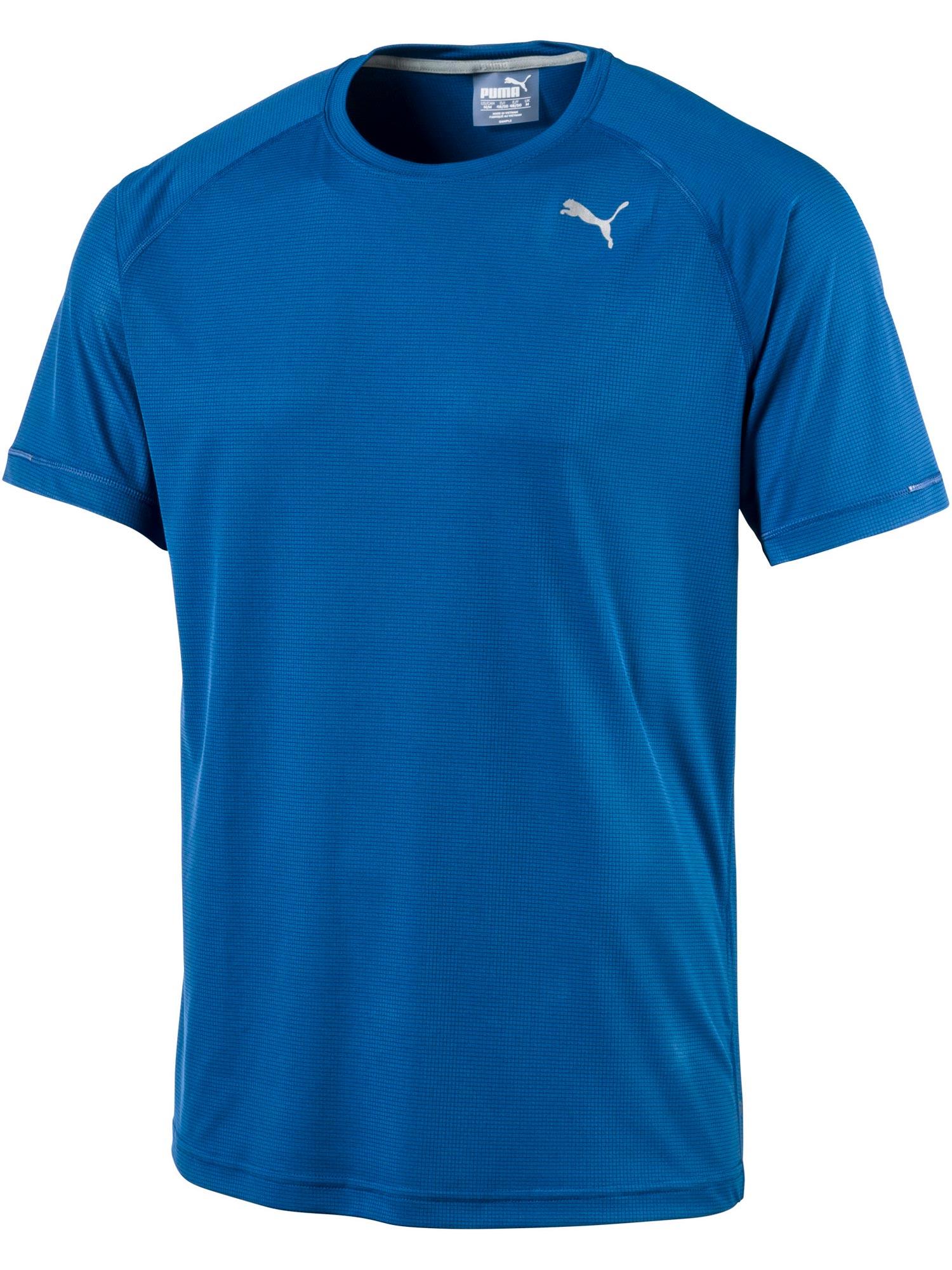 Core-Run S S Tee Lapis Blue