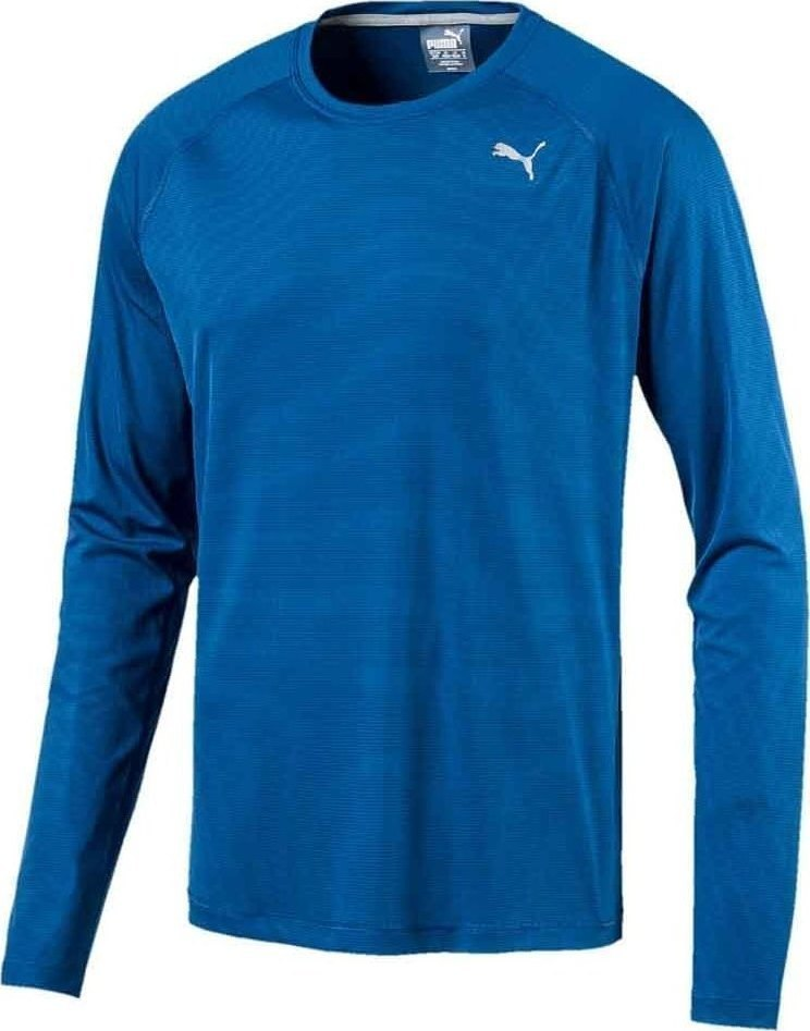 Core-Run L S Tee Lapis Blue
