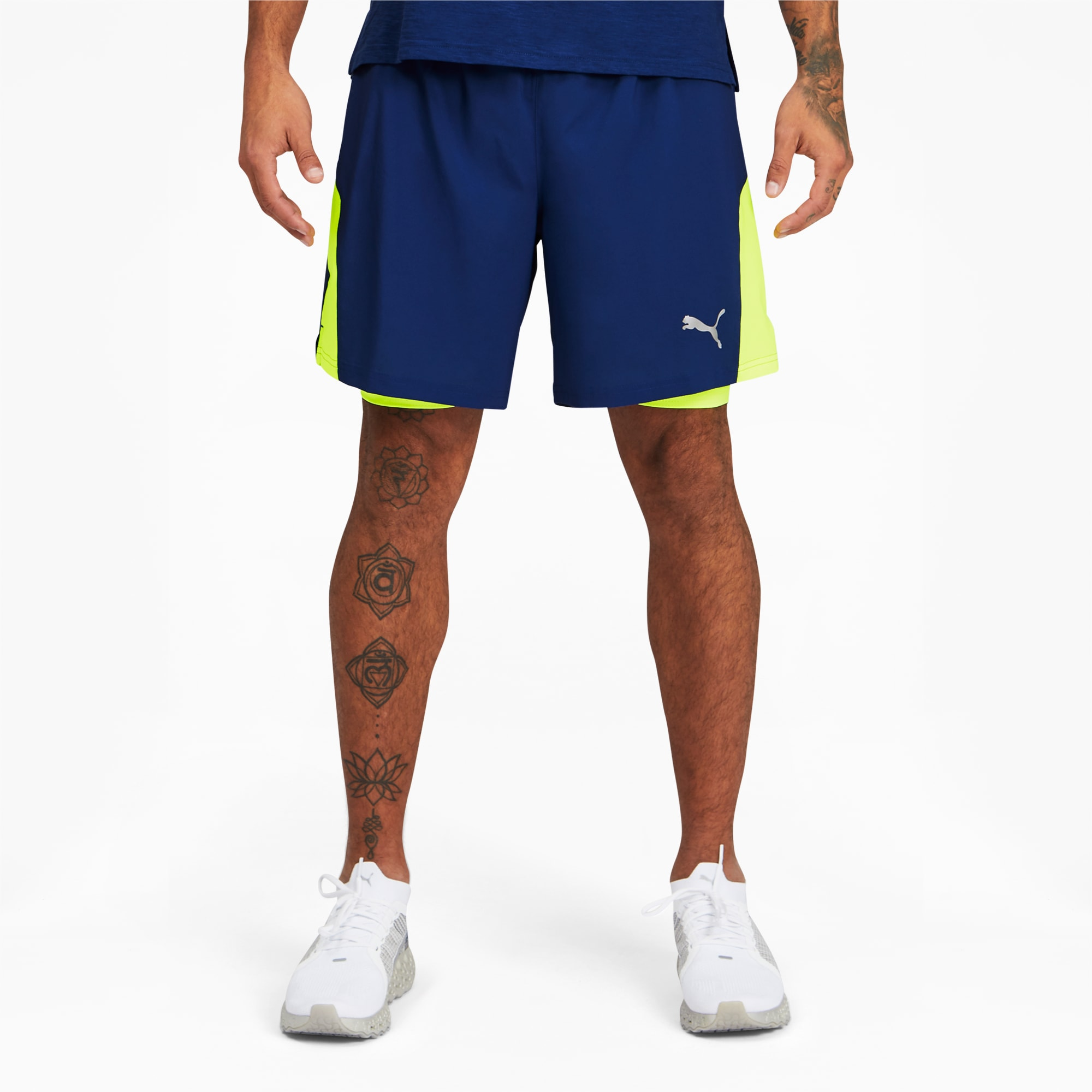 Favorite 2-in-1 Men's Woven Running Shorts