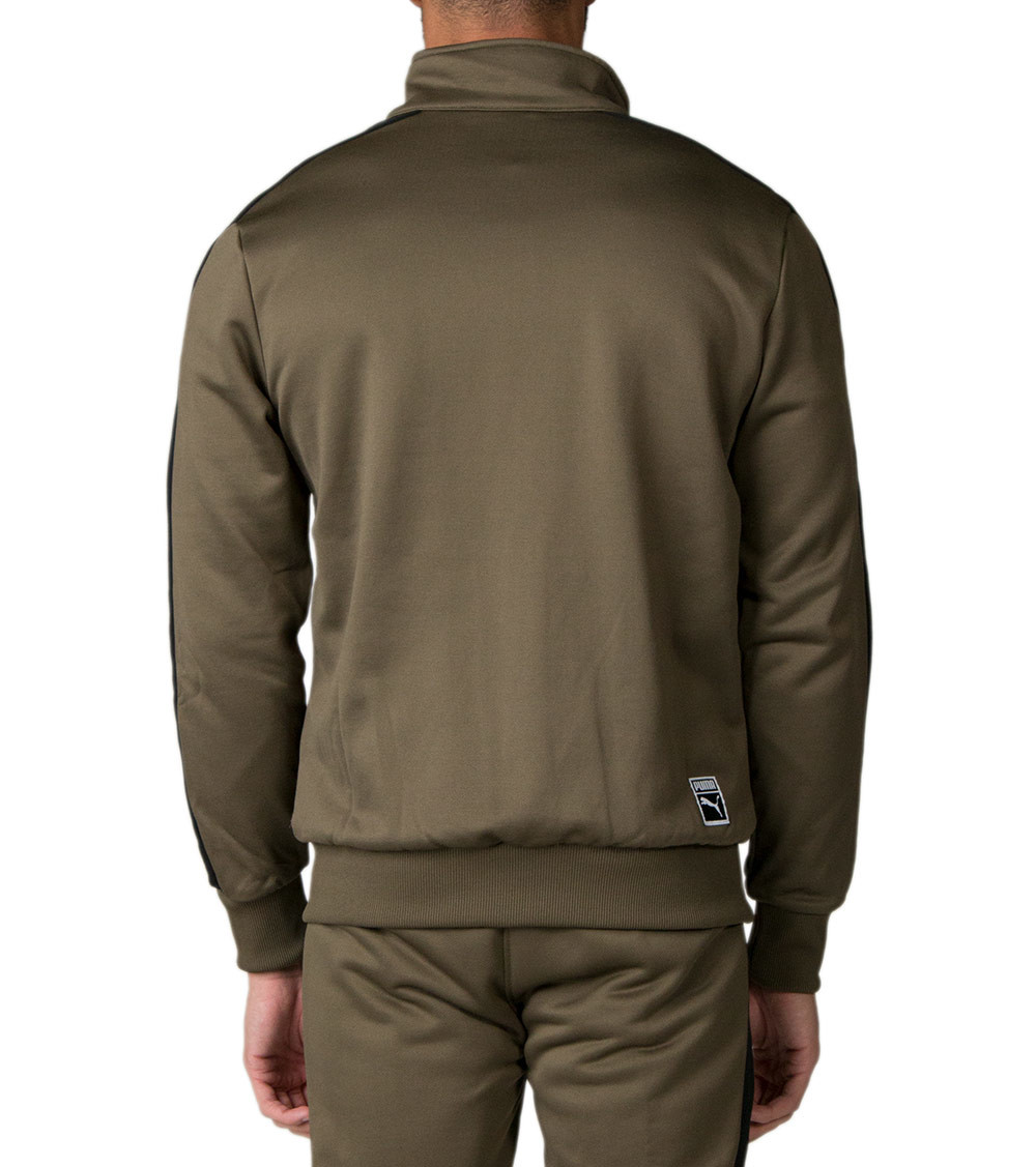 Archive T7 track jacket Olive Night