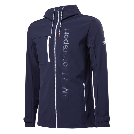 BMW MSP Softshell Jacket Team Blue