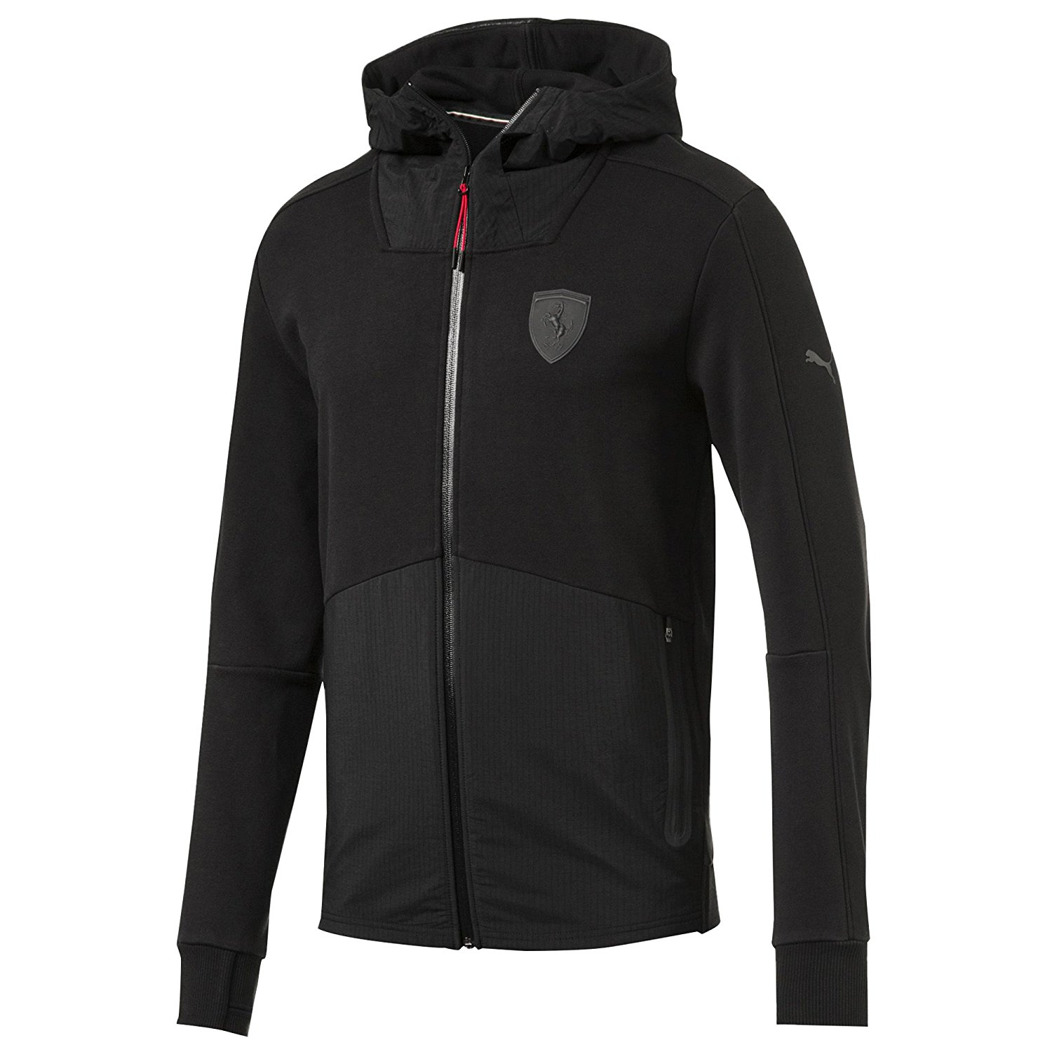 Ferrari Hooded Sweat Jacket Mo