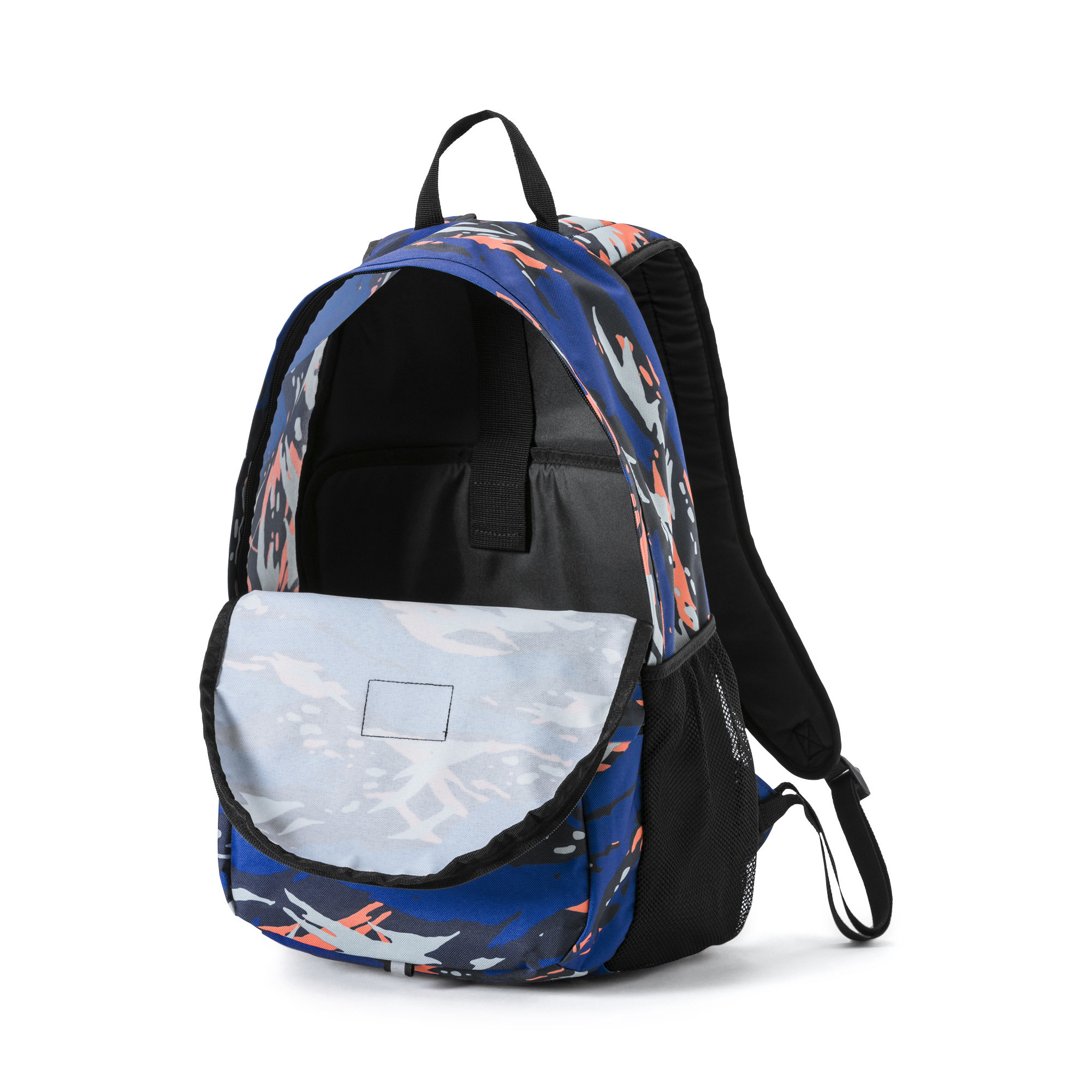 PUMA Academy Backpack Peacoat-Camo AOP