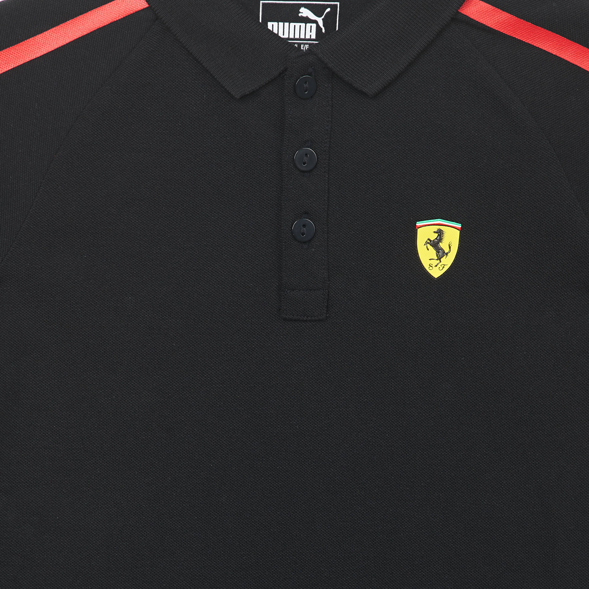 SF Kids Polo Cotton Black
