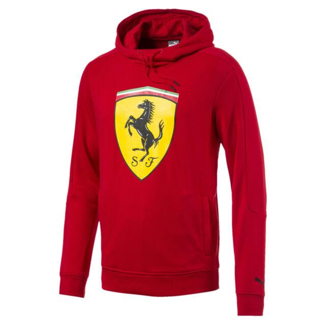 Ferrari Men's Big Shield Hoodie