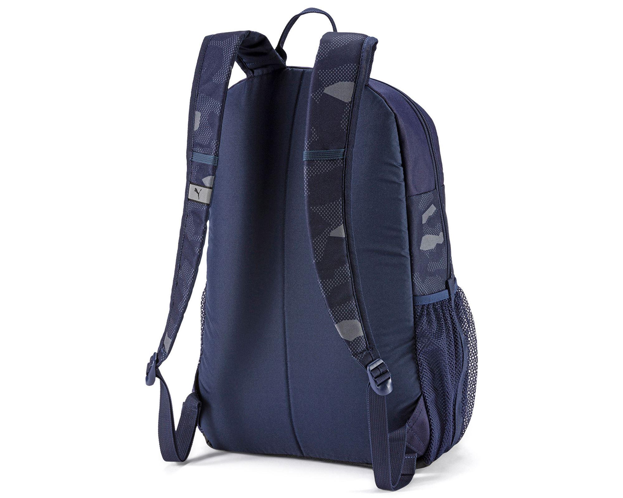PUMA Style Backpack Peacoat-Camo AOP