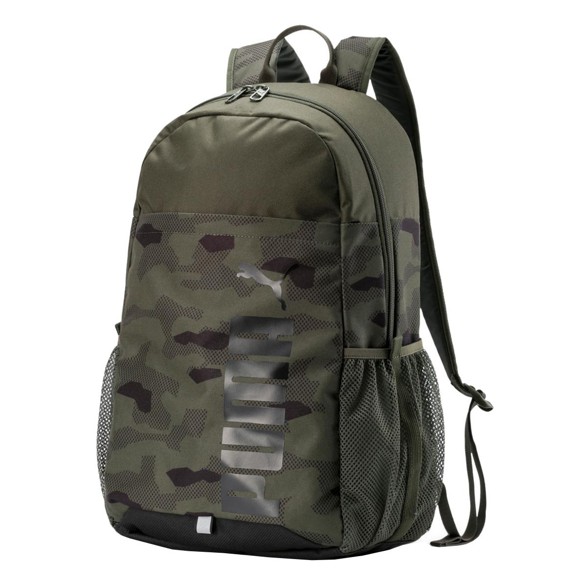 PUMA Style Backpack Forest Night-Camo AO