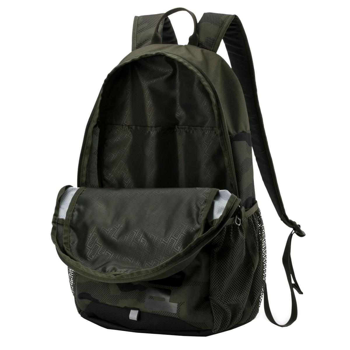 PUMA Style Backpack Forest Night-Camo AO