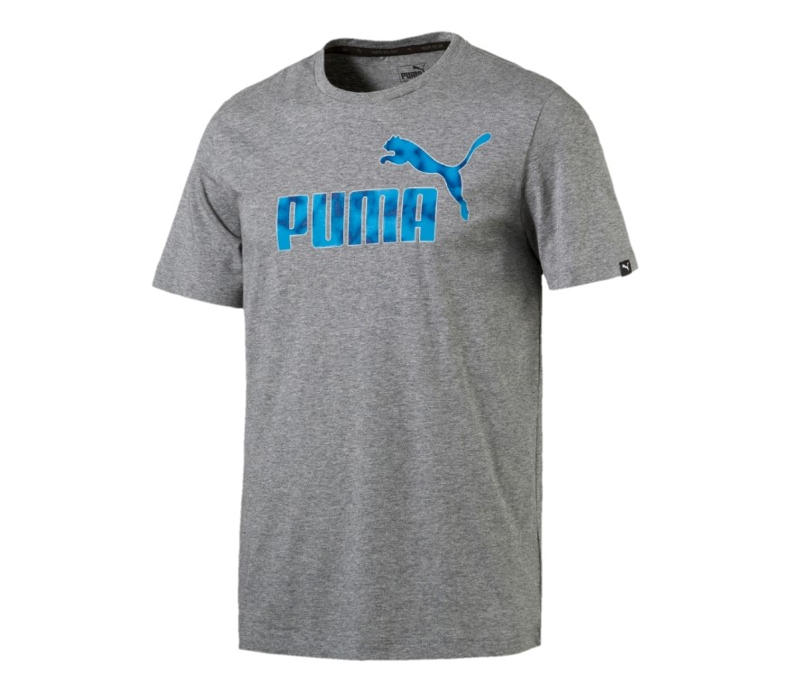 PUMA Hero Tee Medium Gray Heat
