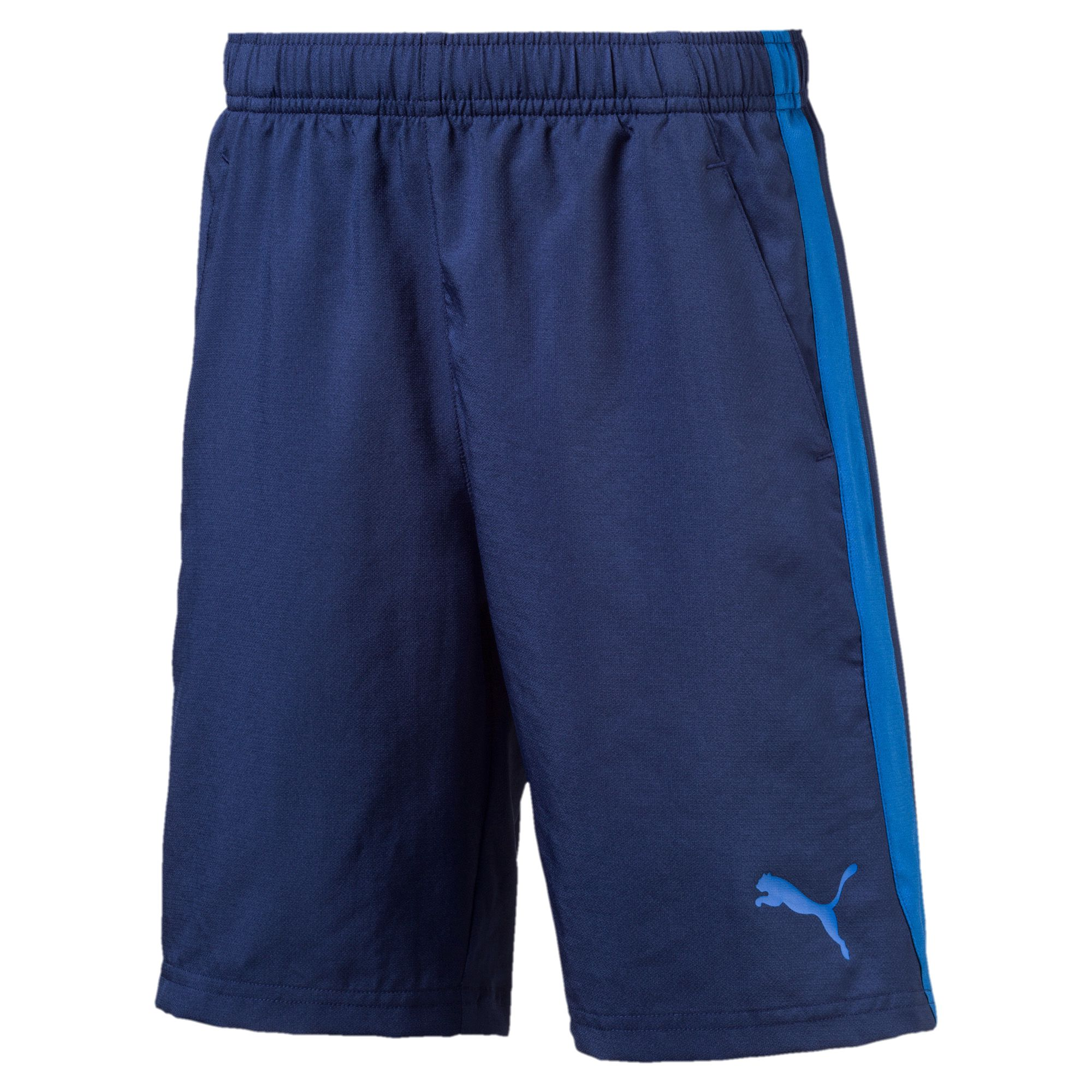 ACTIVE ESS Woven Shorts Blue Depths