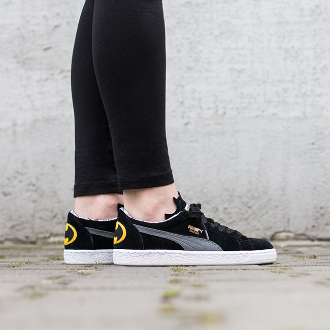 Batman Suede Jr Puma Black-Ste
