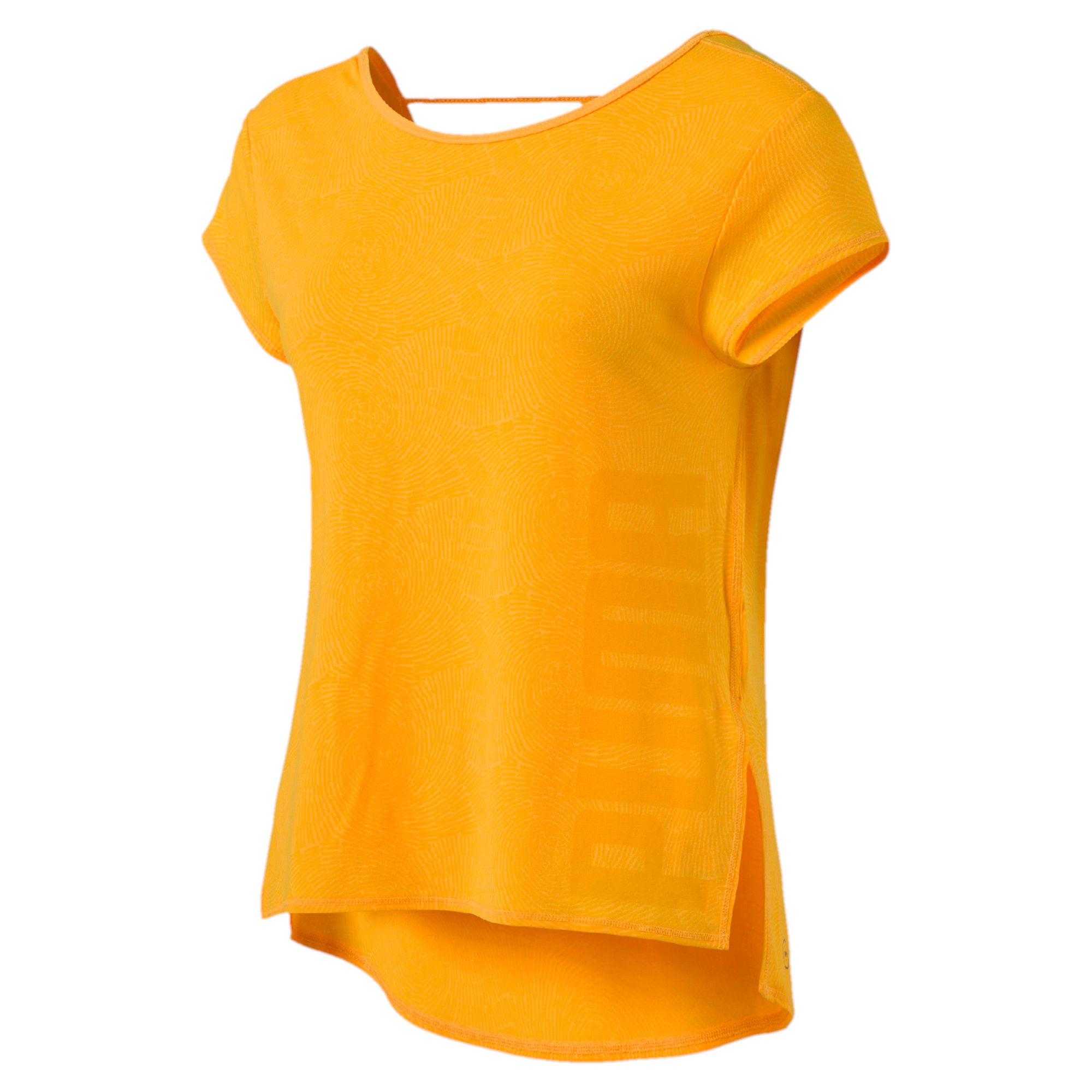 Dancer Drapey Tee ultra yellow