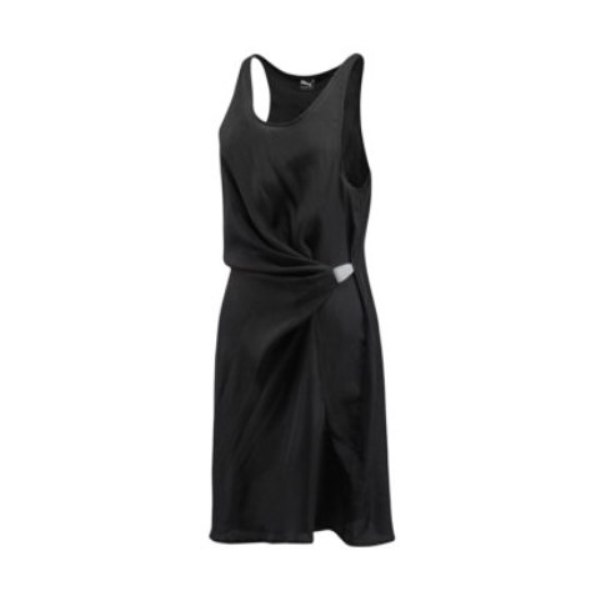 WN Sport Drape Dress black
