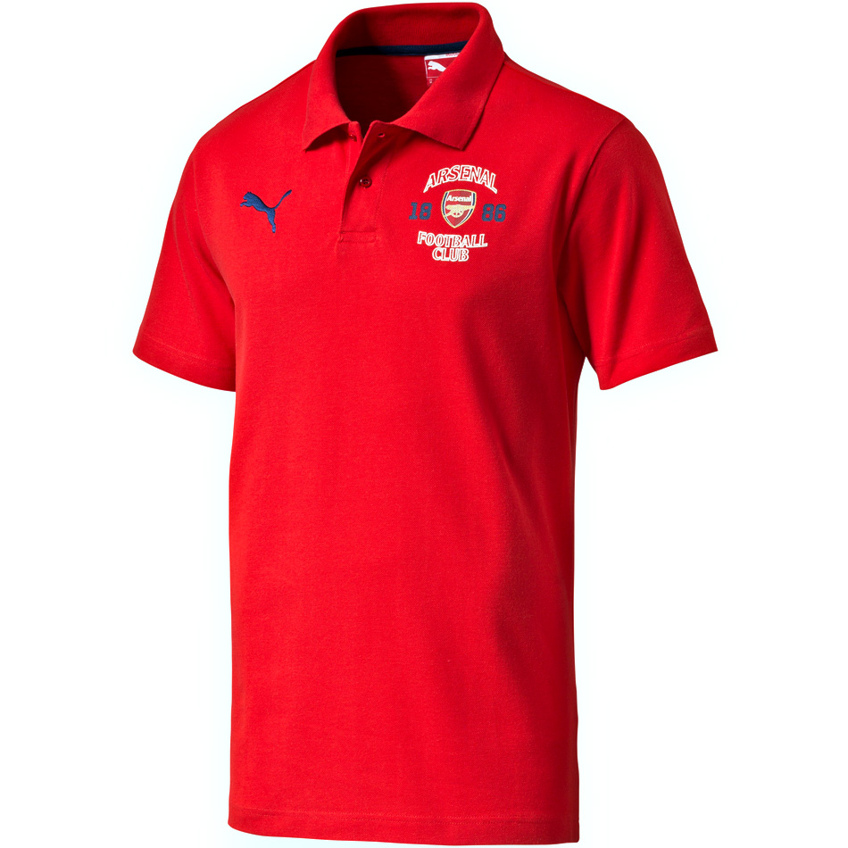 AFC Fan Polo high risk red