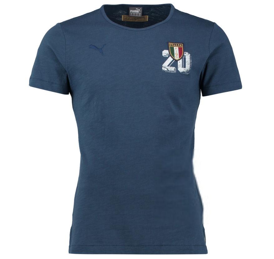 FIGC Italia Azzurri Graphic Te