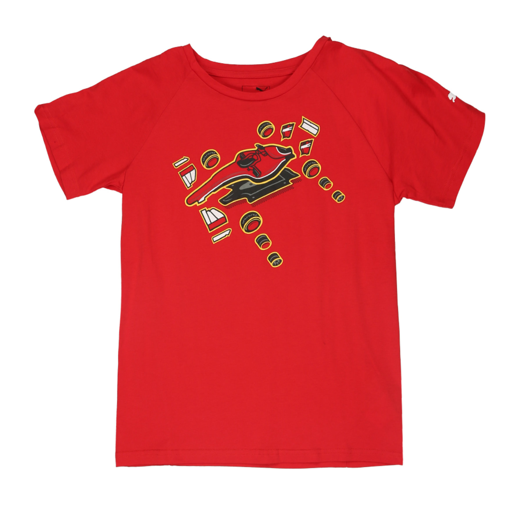 SF Kids Graphic Tee Rosso Cors